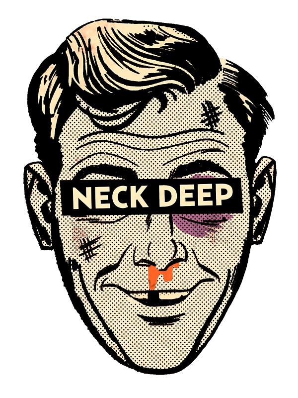 Quot Neck Deep Rain In July Quot Stickers By Sjgergolas Redbubble