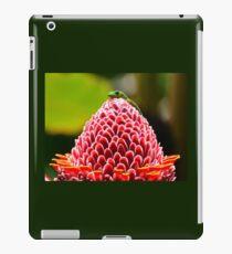 Gecko with flower iPad Case/Skin