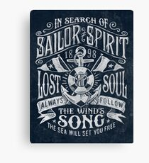 Sailor Spirit Canvas Print