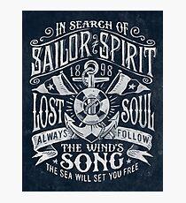 Sailor Spirit Photographic Print