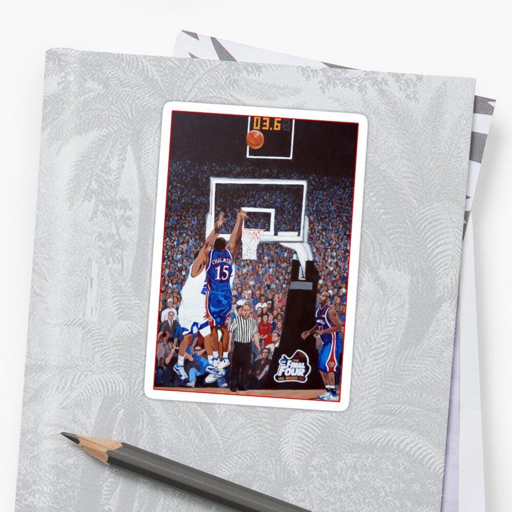 A Shot to Remember - 2008 National Champions Sticker Front