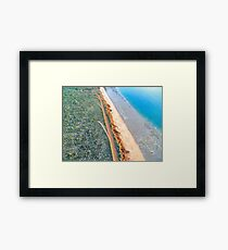 James Price Point Areal  Framed Print