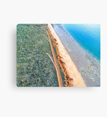 James Price Point Areal  Canvas Print