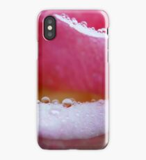 Rain drops on Roses... iPhone Case/Skin