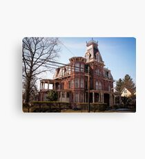 marvelous mansard Canvas Print