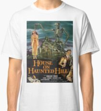 Vintage poster - House on Haunted Hill Classic T-Shirt
