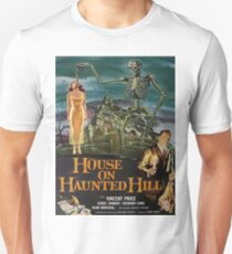 Vintage poster - House on Haunted Hill Unisex T-Shirt