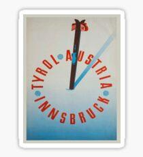 Vintage poster - Tyrol Sticker