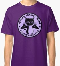 Pussies Against Trump Purple Classic T-Shirt