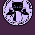 Pussies Against Trump Purple by Thelittlelord