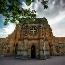 Rosslyn Chapel Entrance by Richard Mason