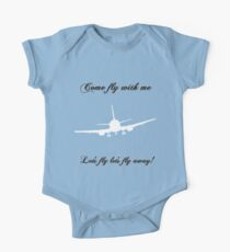 Let's Fly One Piece - Short Sleeve