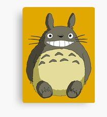 Totoro Studio Ghibli Canvas Print