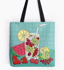 Sommer Früchte Tote Bag