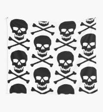 Skull and cross bones (Pirate) Wall Tapestry