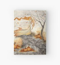 Whispers in the Pumpkin Patch Hardcover Journal