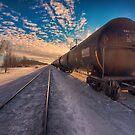 Winter Railway by IanMcGregor