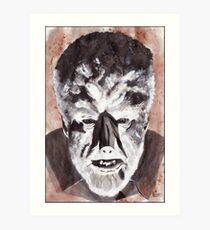 Wolf Man Art Print