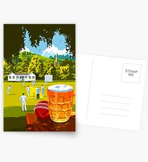 Village Cricket Postcards