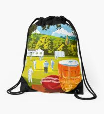 Village Cricket Drawstring Bag