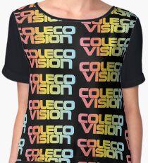 ColecoVision logo Women's Chiffon Top