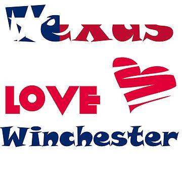 Texas Girls Love Winchester Boys by GeekyGrandeur