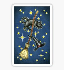Everyday Witch Tarot - Back of Card Design Sticker