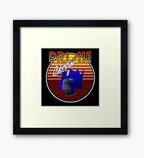 80's Retro Optimus Prime Framed Print