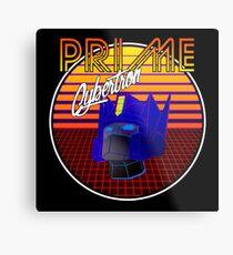 80's Retro Optimus Prime Metal Print