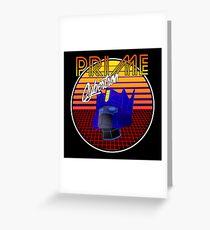 80's Retro Optimus Prime Greeting Card
