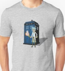 Rick and Morty -  Dr who T-Shirt