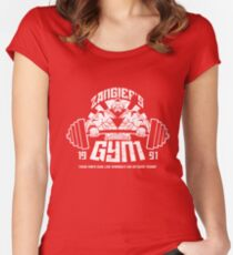 Zangief Gym Women's Fitted Scoop T-Shirt