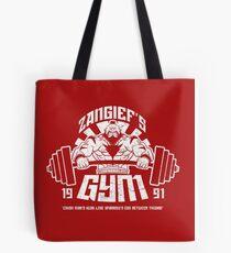 Zangief Gym Tote Bag