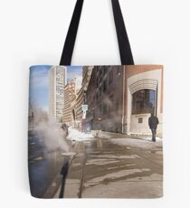 View of Three States Tote Bag