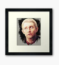 Martin Freeman as John Watson Framed Print
