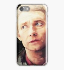 Martin Freeman as John Watson iPhone Case/Skin