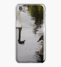 Mother and Child Swan iPhone Case/Skin