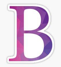 Beta-purple Sticker