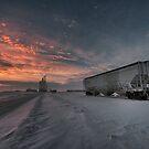 Winter Rail Car by IanMcGregor