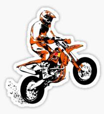 Supermoto Racing Sticker