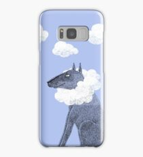 Head in Clouds Dreamer Dog Samsung Galaxy Case/Skin