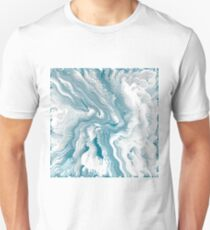 Abstract blue pattern Unisex T-Shirt
