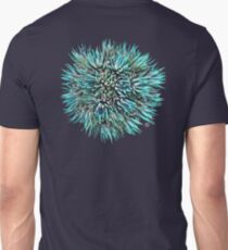 Cactus Crown 1. Blue & Green on Black #decor #buyart T-Shirt