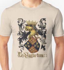 King of England Coat of Arms - Livro do Armeiro-Mor T-Shirt