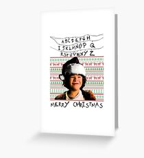 Stranger Things Christmas (Dustin) Greeting Card