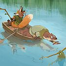 River Critters by weremagnus