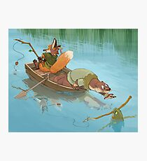 River Critters Photographic Print