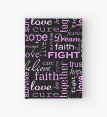 Breast Cancer - Black Hardcover Journal