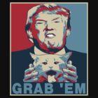 Trump Grab Em Poster by EthosWear