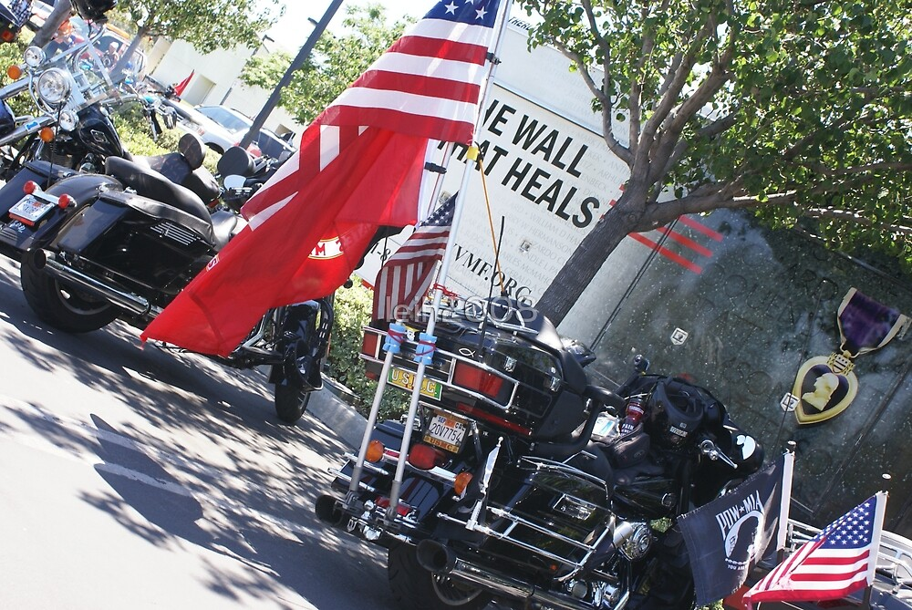The Wall That Heals; Vietnam Veterans Memorial; Irvine, CA USA  by leih2008
